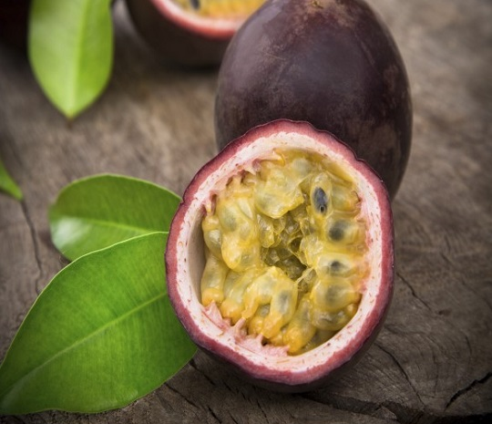 Passionfruit smaller